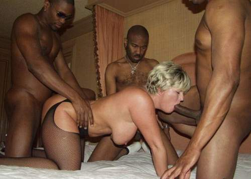 But Gangbang swapping hubby humiliated