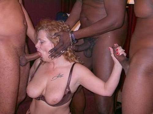 Drunk redhead beerpong